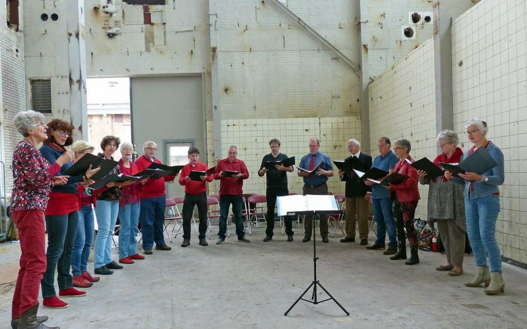 Concert in oude Zwitsal Fabriek